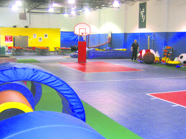 Where kids can have fun and be active