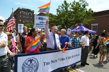 20th Annual Queens Pride Parade held in Jackson Heights