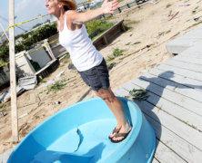 Breezy Point tornado damages 16 cabanas