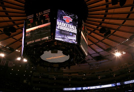 Knicks bring 'Basketball in the Boroughs'