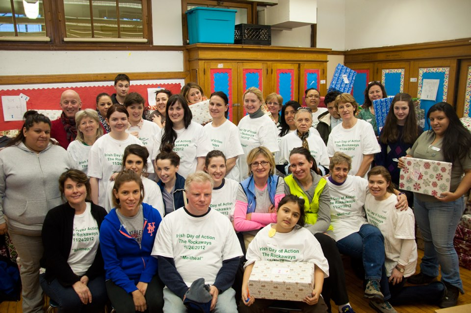 Second Irish Day of Action helps rebuild Rockaways