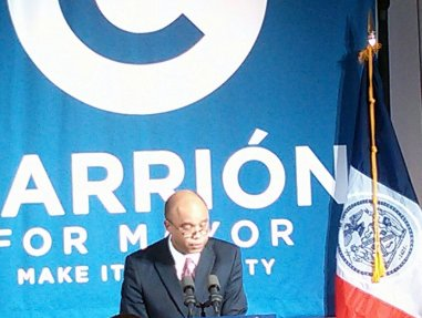 Ex-Bronx Borough President Adolfo Carrion announces third-party run for mayor