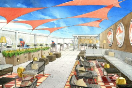 Delta to build first outdoor airport terrace at JFK