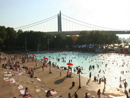 Beat the heat at free outdoor pools in Queens