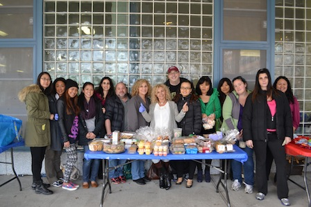 Bayside school bake sale benefits typhoon victims
