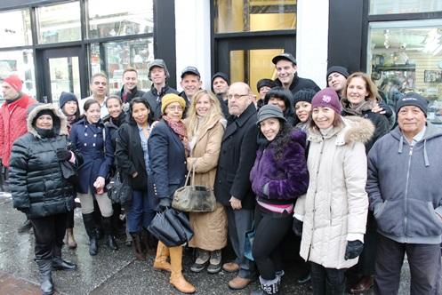 82nd Street Partnership unveils restoration of historic Jackson Heights building