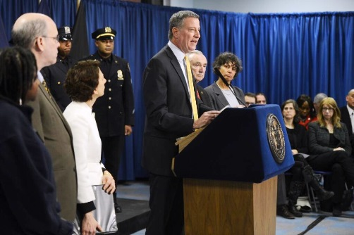 Mayor de Blasio reveals details of Vision Zero plan to put end to traffic fatalities