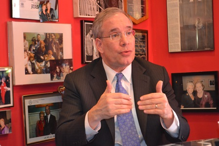 City Comptroller Scott Stringer sits down with The Queens Courier