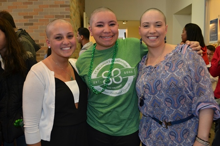 BOLD & BALD: St. John's loses locks for cancer research