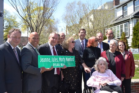 Flushing gay rights activist honored with street co-naming