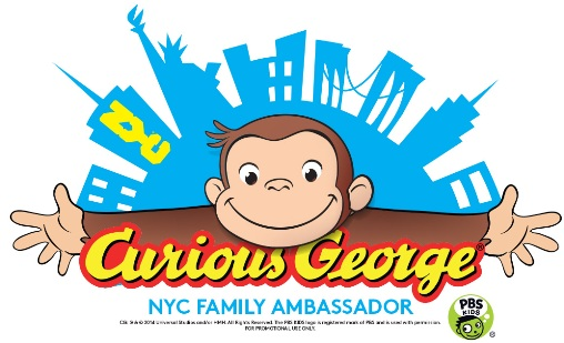 Curious George named Official NYC Family Ambassador
