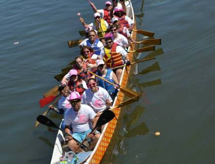 Breast cancer survivors create dragon boat racing team to raise funds