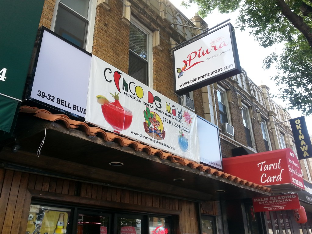 Cinco De Mayo moves down Bell Blvd., replaced by Peruvian restaurant