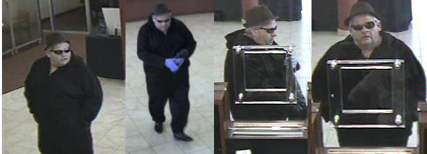 Police looking for suspect who wore blue gloves to rob Maspeth bank