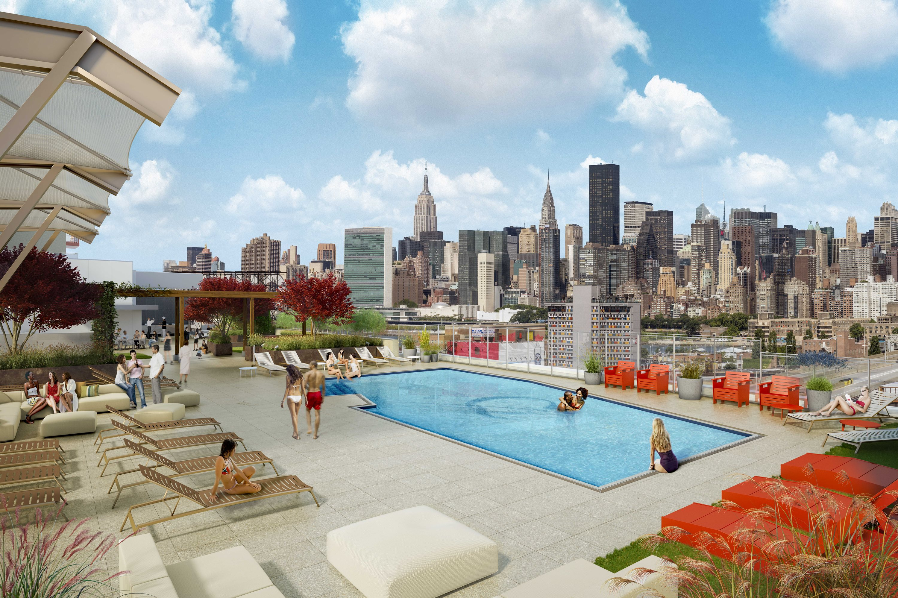 Apartment Building Long Island City apartments now available in new lic luxury tower with rooftop pool