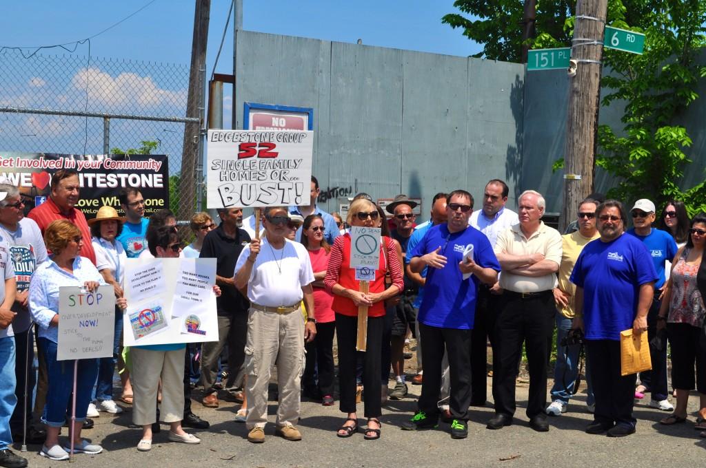 Whitestone neighbors rally against overdevelopment