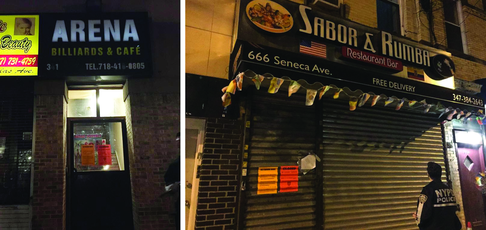 104th Precinct closes down two rowdy Ridgewood hot spots