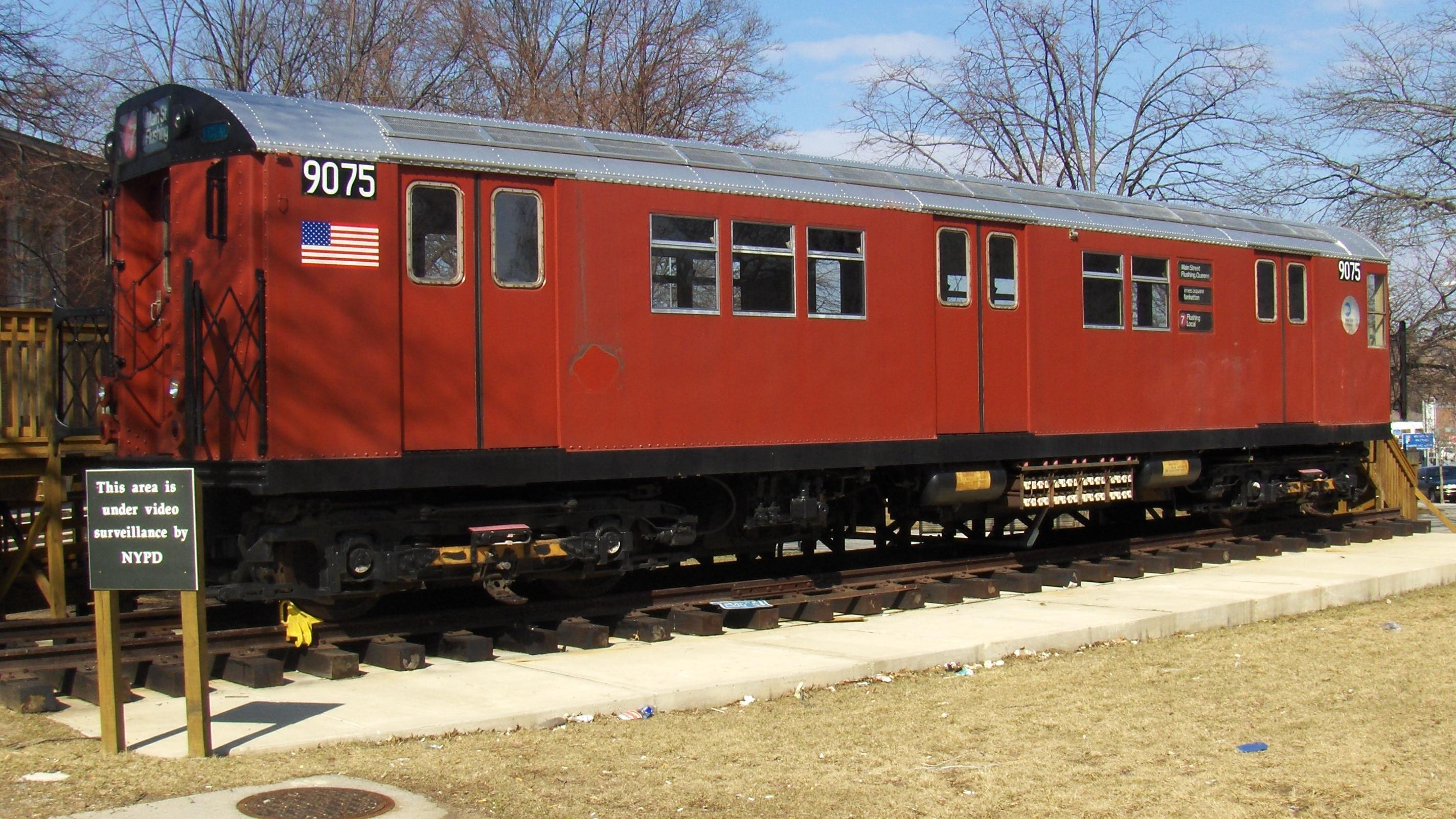 Former Redbird subway car-turned-Queens Tourism Center closing