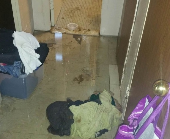 NYCHA South Jamaica Houses experience extensive flooding
