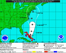 UPDATED: Hurricane Joaquin moving east, but still a threat to NYC