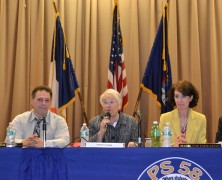 Schools chancellor tackles overcrowding at town hall meeting in Maspeth