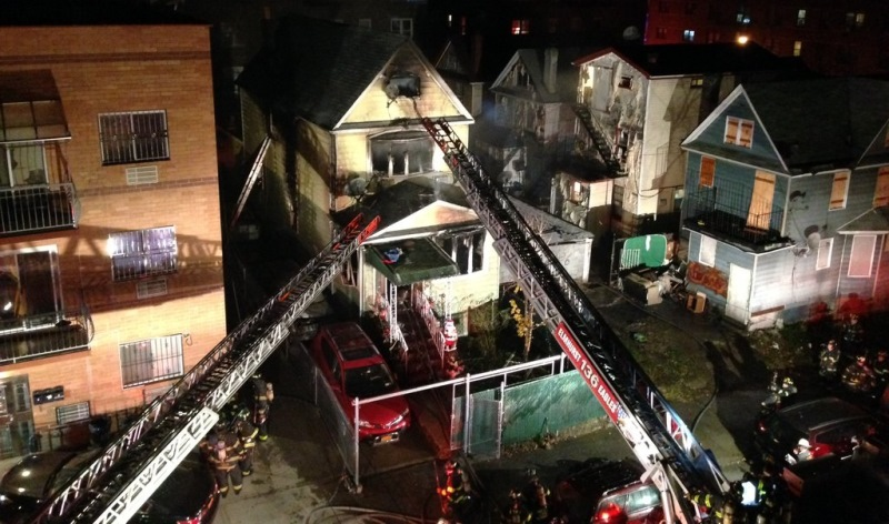 Three firefighters among nine injured in early-morning Elmhurst blaze