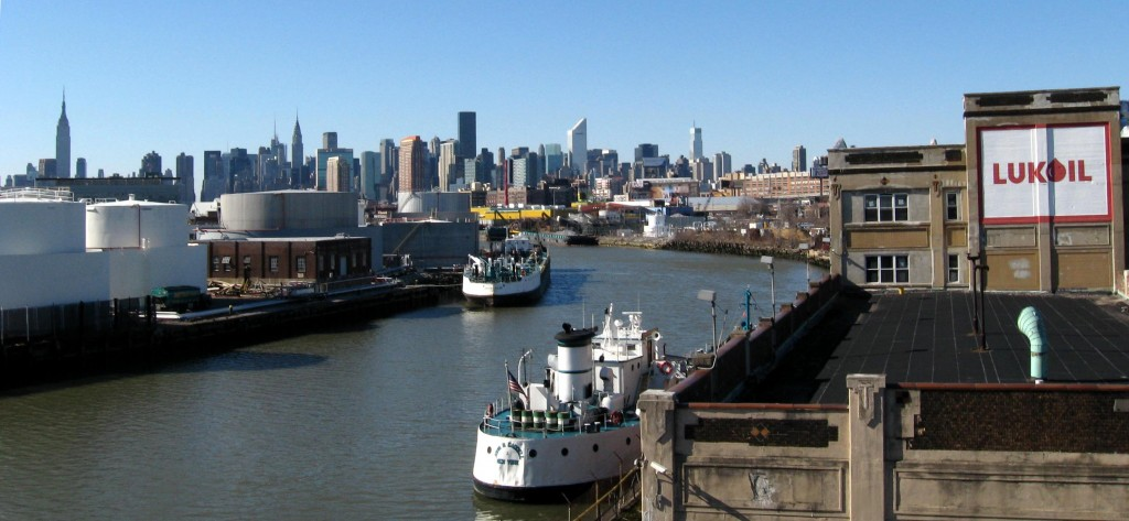 DEP begins $30M project to install litter capture devices near Newtown Creek