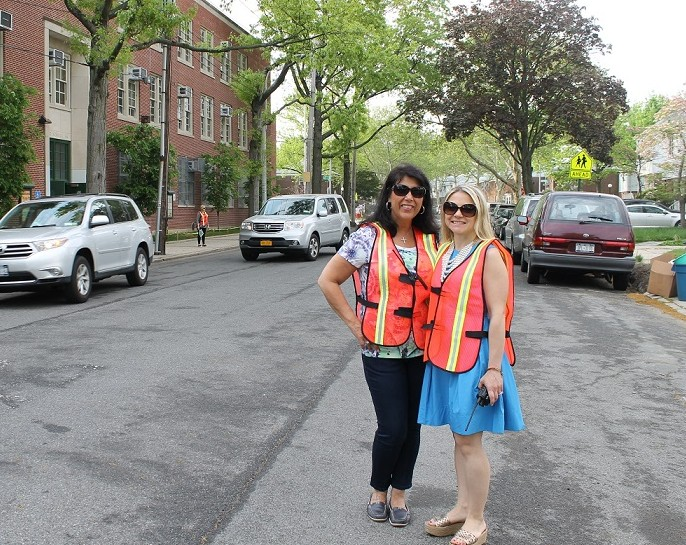 'Lifesavers' street safety project at Bayside school is a hit with parents