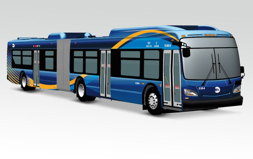 Southeast Queens residents will be the first to ride new high-tech MTA buses