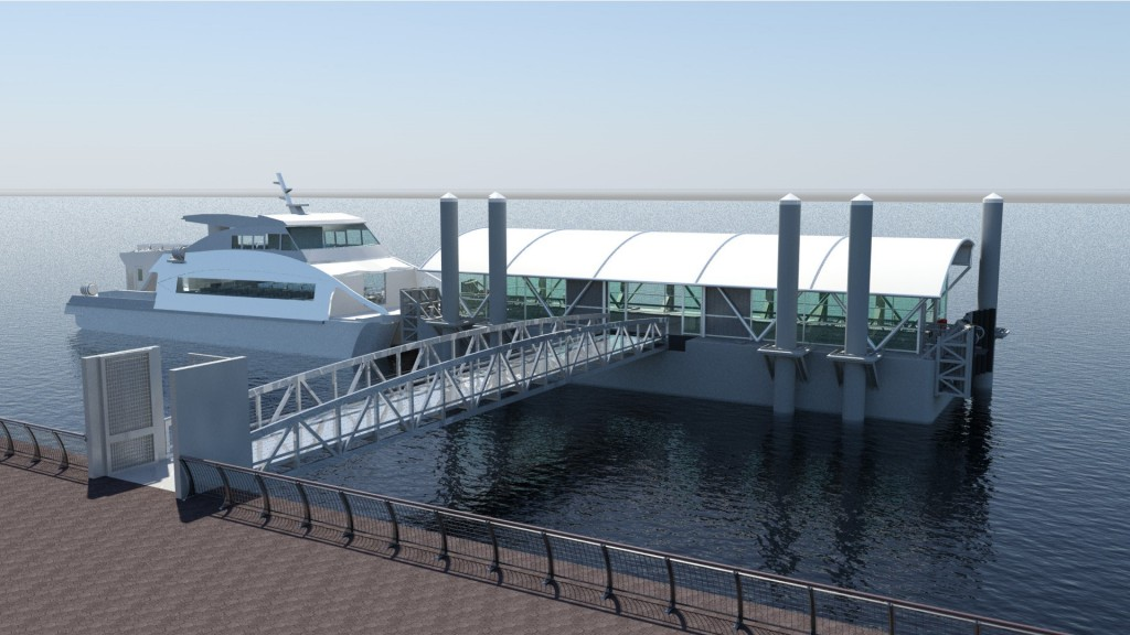 Check out renderings for the new Citywide Ferry Service coming to Queens next year