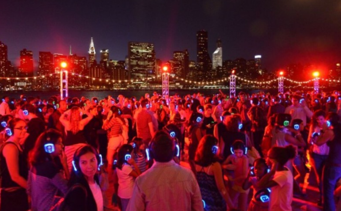 Silent Disco dance party will light up the Long Island City waterfront on Friday