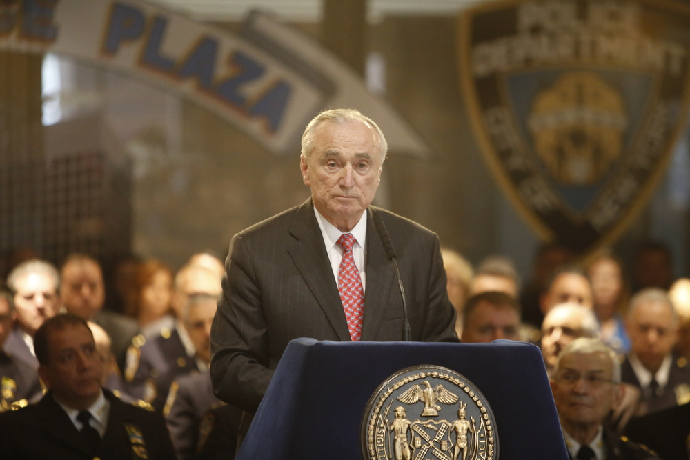 Police Commissioner Bratton retiring in September; Chief O'Neill to become new top cop