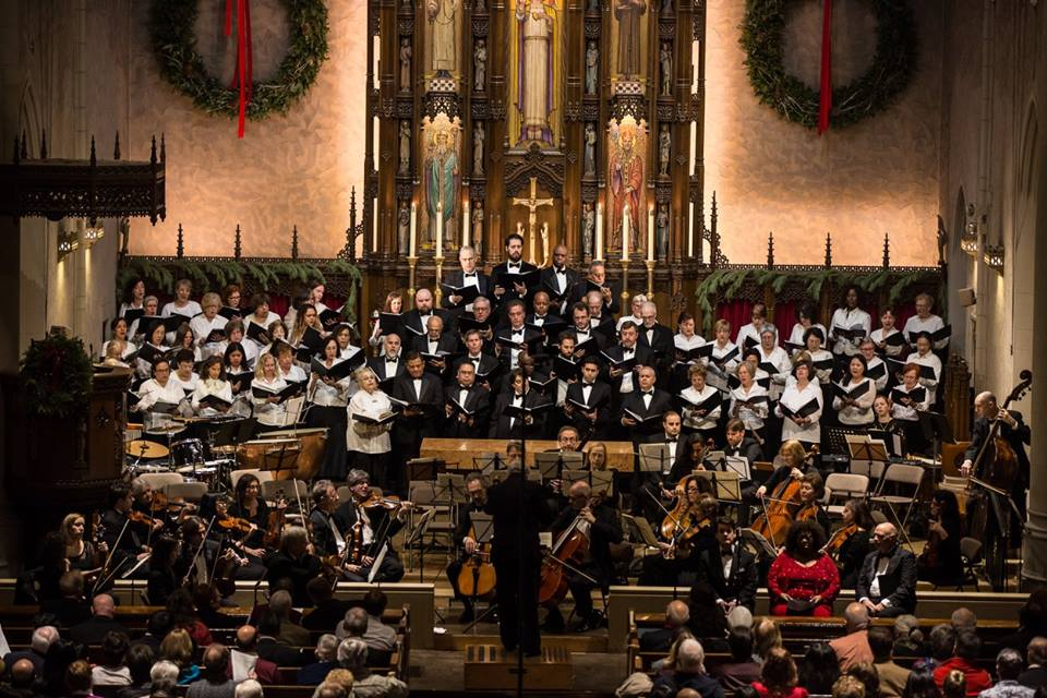 Sacred Music Society presents its annual Christmas concert at Forest Hills church this weekend