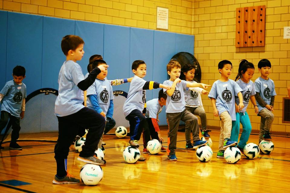 This Middle Village-based soccer program teaches kids more than just how to play
