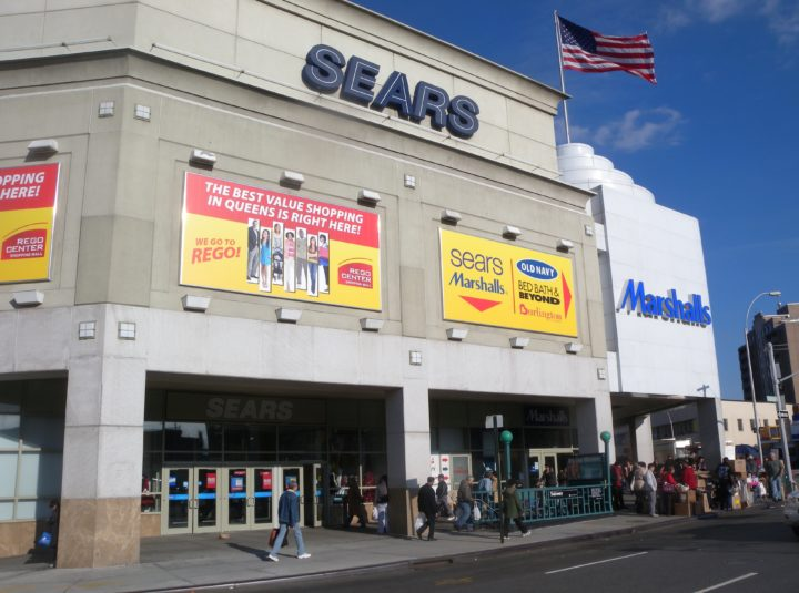 Sears in Rego Park will be one of 18 locations nationwide to close this year