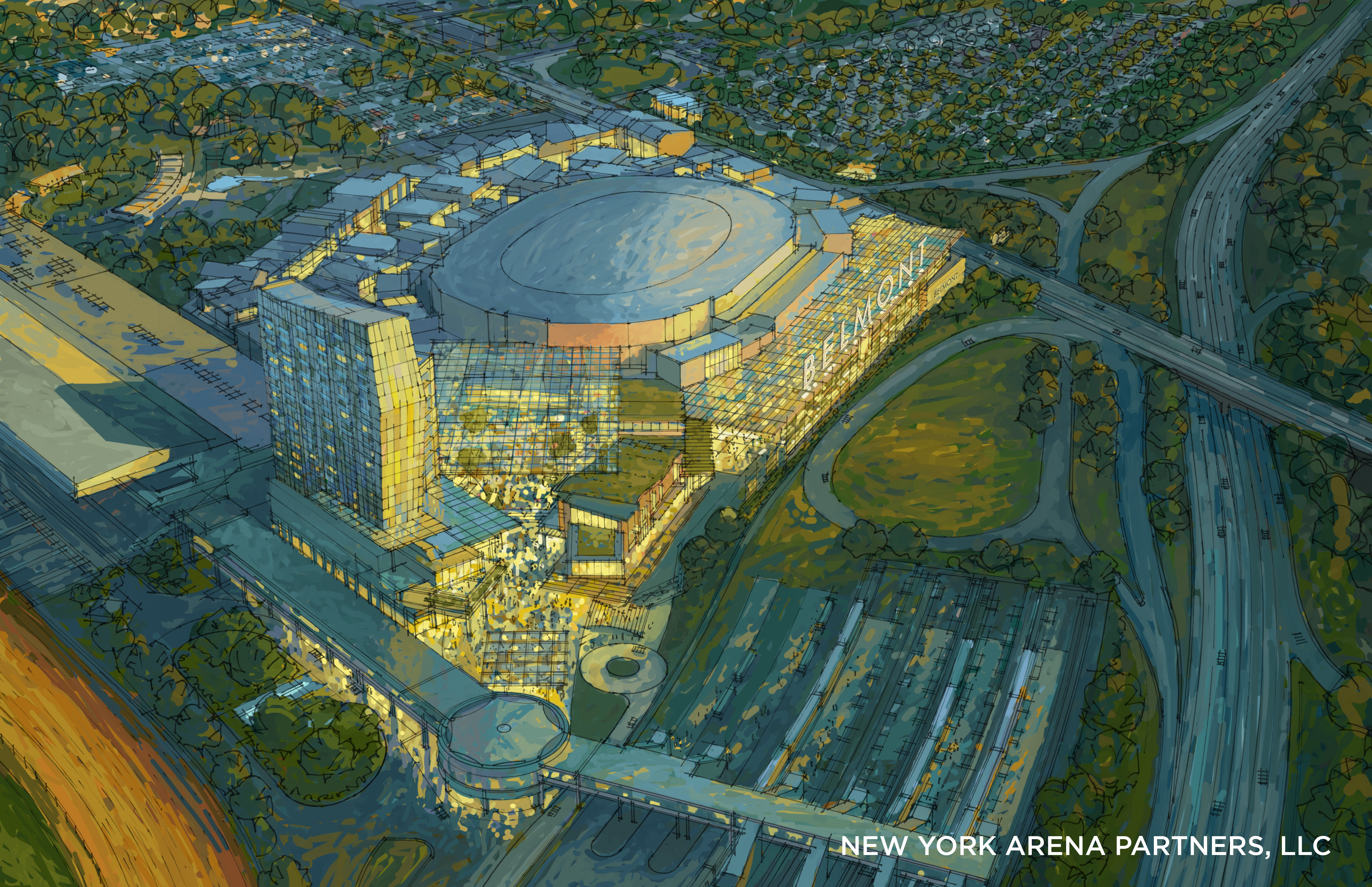 It's official: New York Islanders win bid to build a new home near Belmont Park