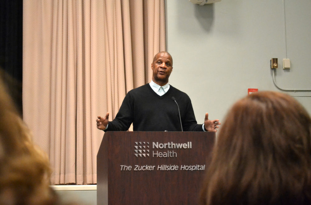 Ex-Met and Yankee slugger Darryl Strawberry talks addiction in Queens