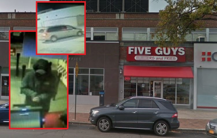 Suspect sneaks into Five Guys in Fresh Meadows, tries to swipe cash from register: cops