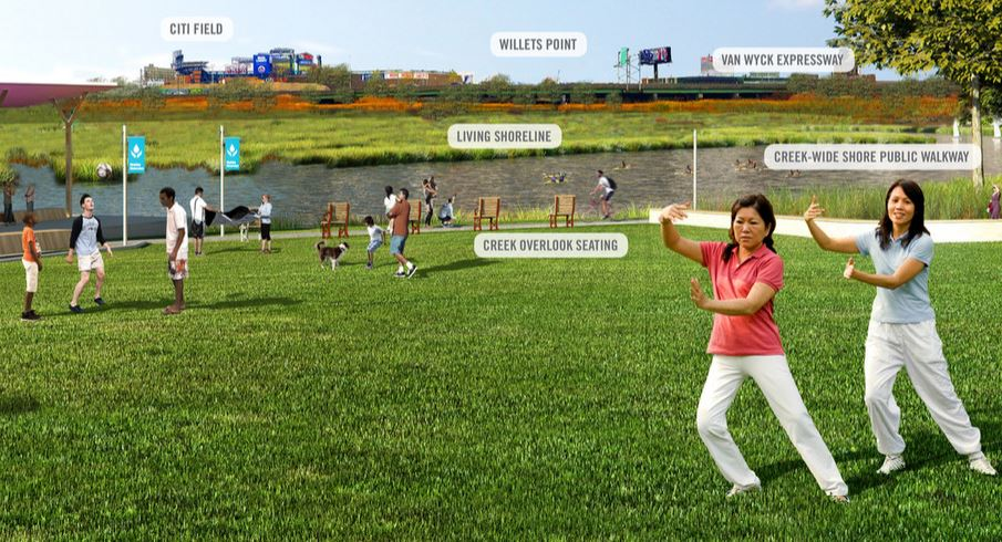 Waterfront community center, new parks among bold proposals for Flushing waterways