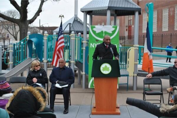 Renovations to Far Rockaway's Grassmere Playground complete