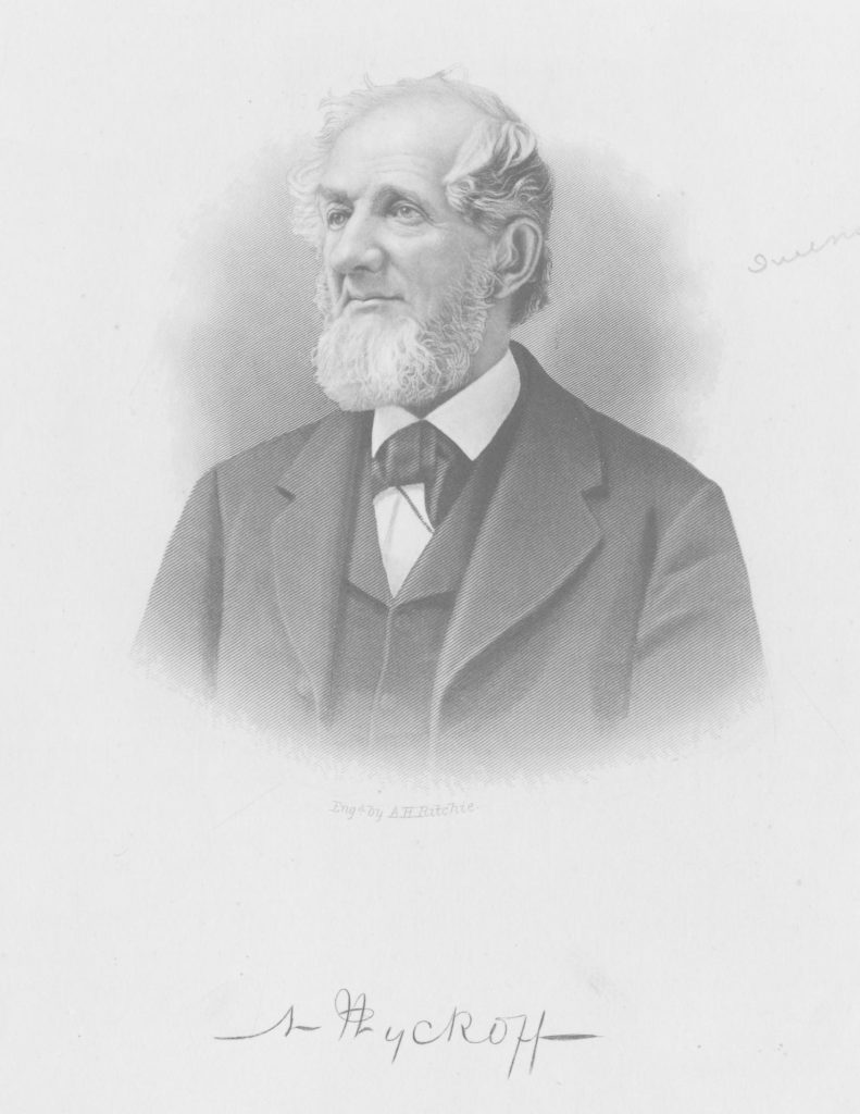 A portrait of Nicholas Wyckoff, 1880, Courtesy of the Queens Borough Public Library, Archives, Portrait Collection