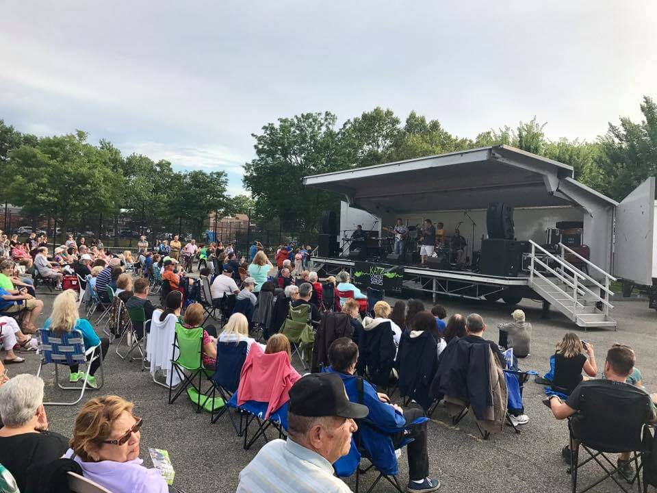 Enjoy free concerts for the whole family at Middle Village park and at banks in Maspeth & Forest Hills