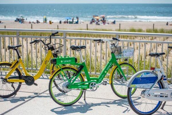 Dockless bike-sharing program launches in the Rockaways