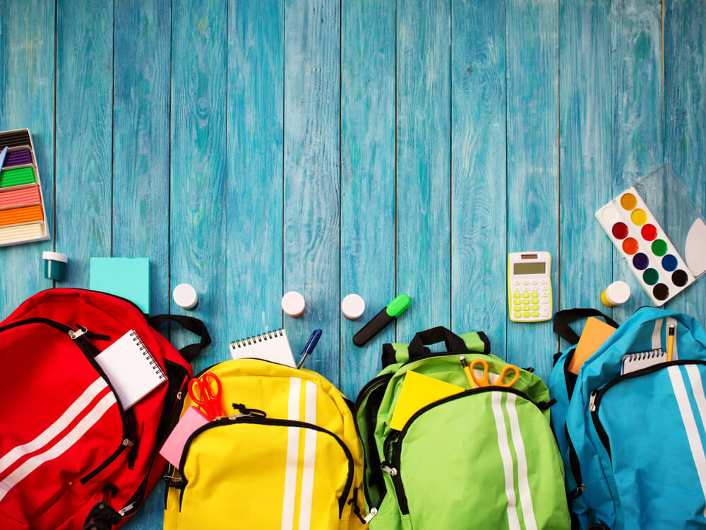 Drop off new backpacks and school supplies for annual drive at Queens Borough Hall