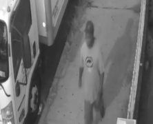Video footage shows suspect who robbed a man at gunpoint on an Ozone Park street