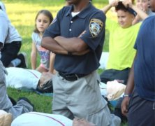 NYPD holds youth camp at Baisley Pond Park