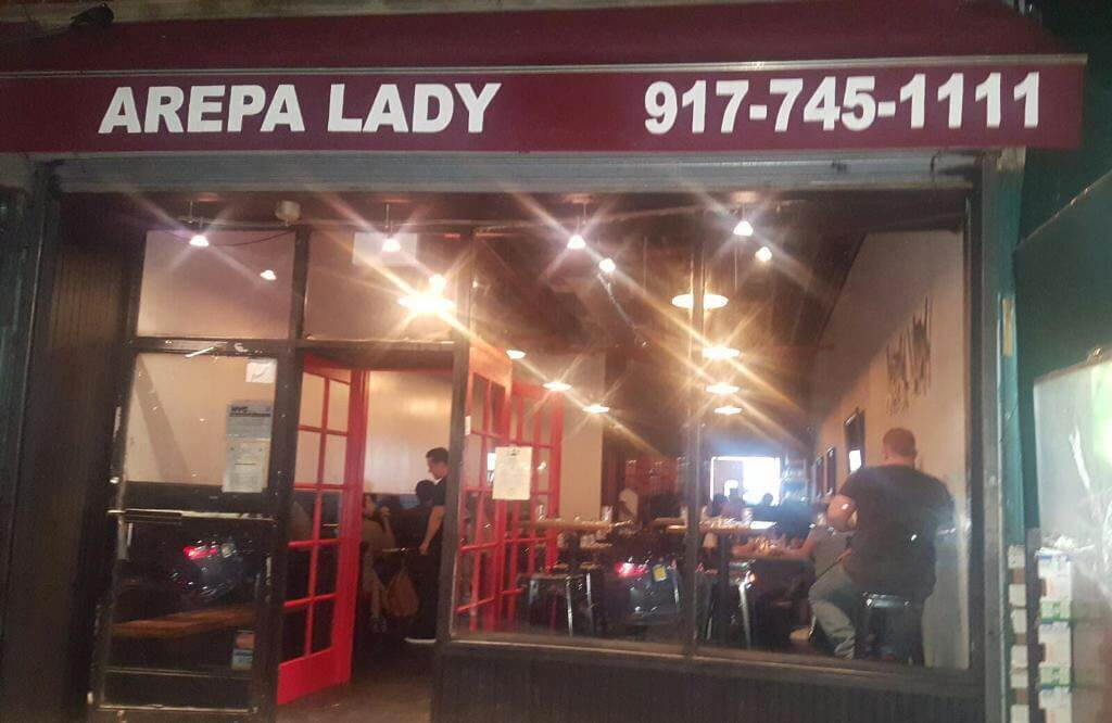 Arepa Lady's back in business in Jackson Heights with a larger restaurant but same great food