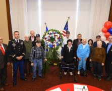 St. John's hosts annual Veterans Day ceremony