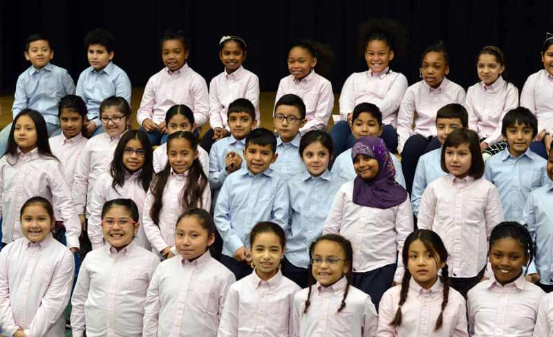 New York Pops hand out shirts to LIC, Forest Hills schools