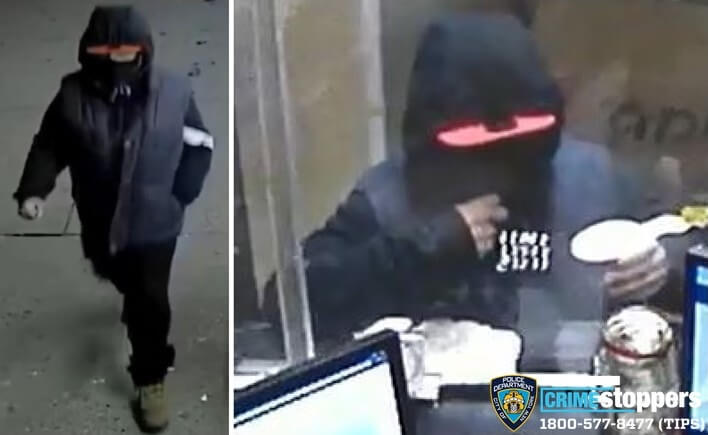 UPDATE: Man who threatened to torch a Western Union in Woodside wanted for robbery